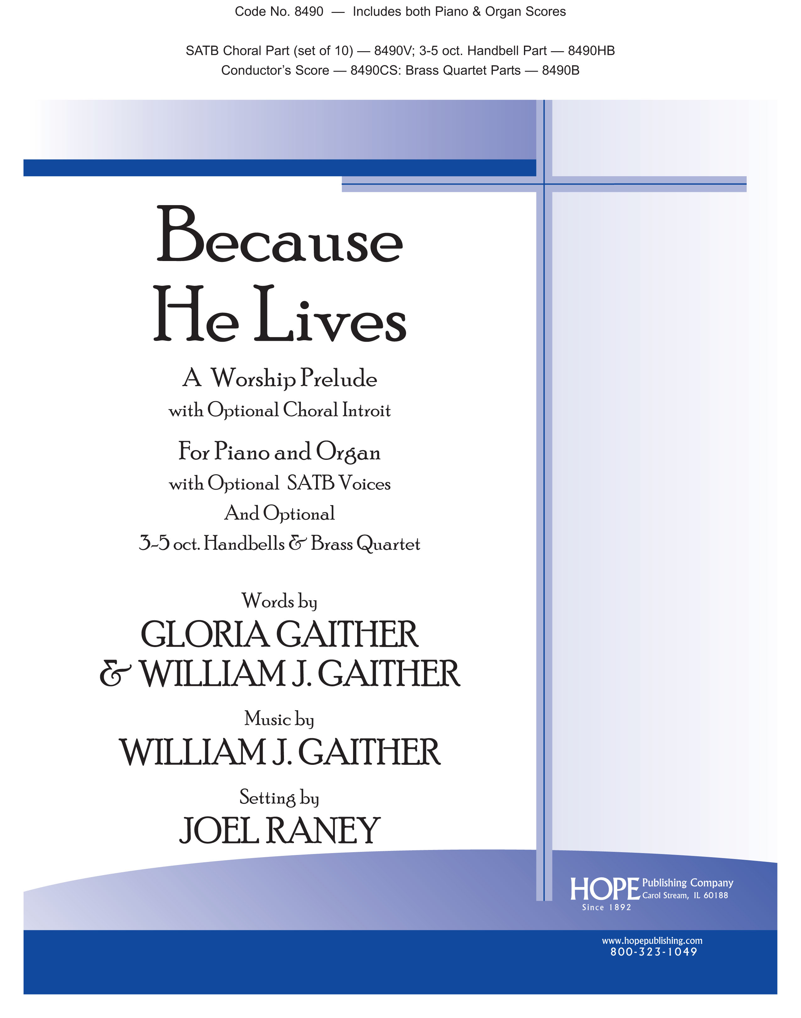 Because He Lives - Score Cover Image