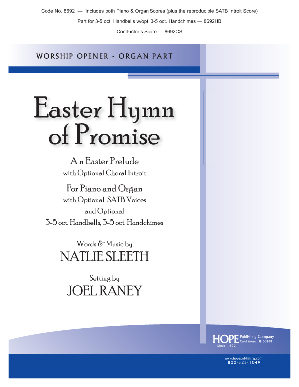 Easter Hymn of Promise - O-P Duet (reproducible SATB introit score included) Cover Image
