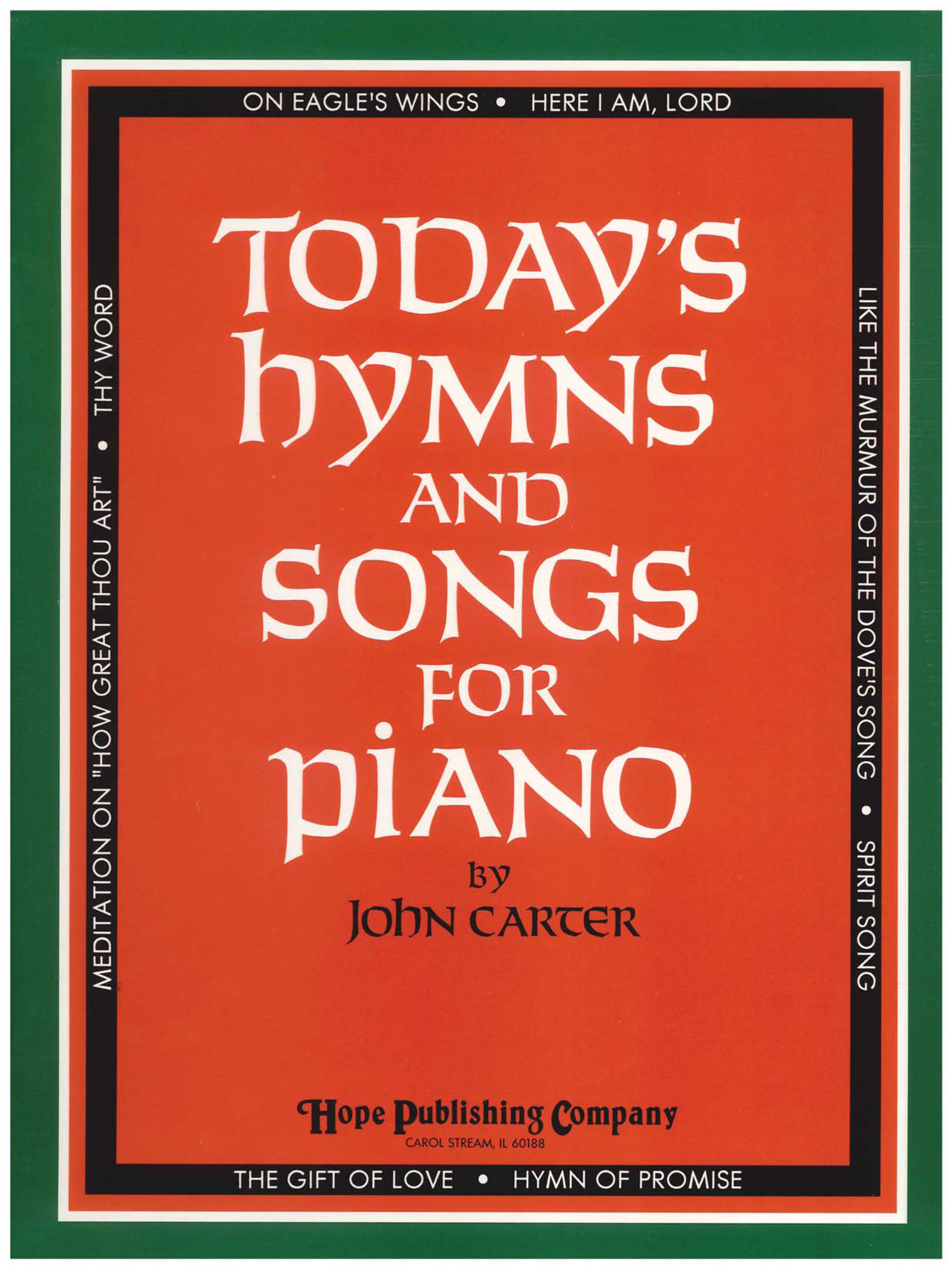 Today's Hymns and Songs for Piano Cover Image