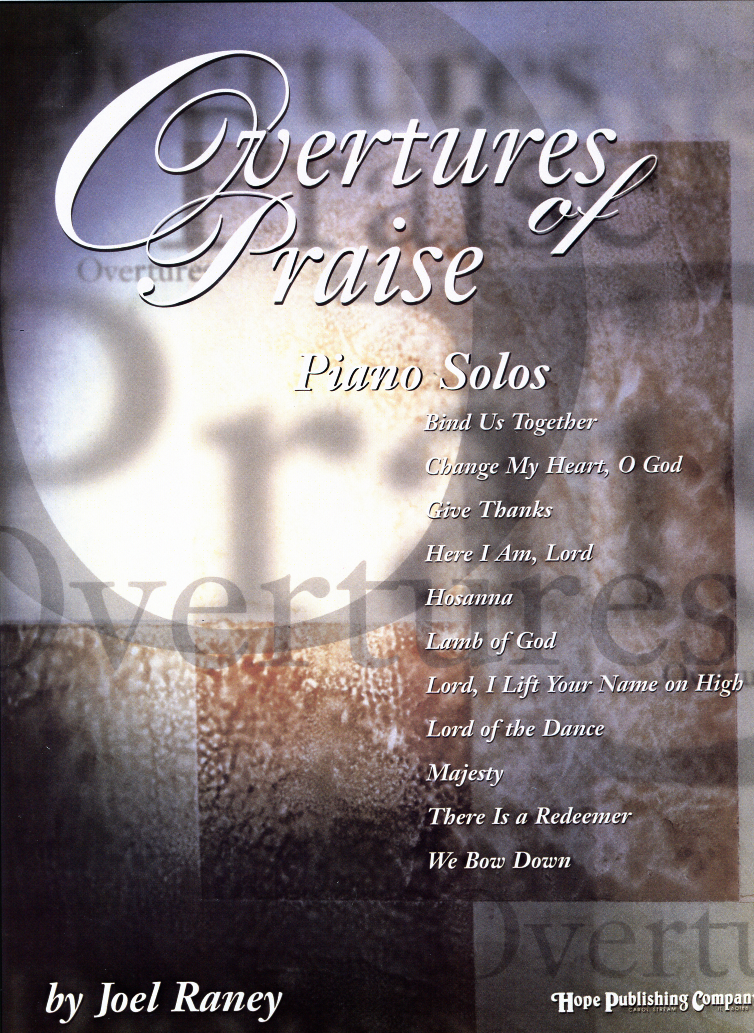 Overtures of Praise - Piano Solos Cover Image