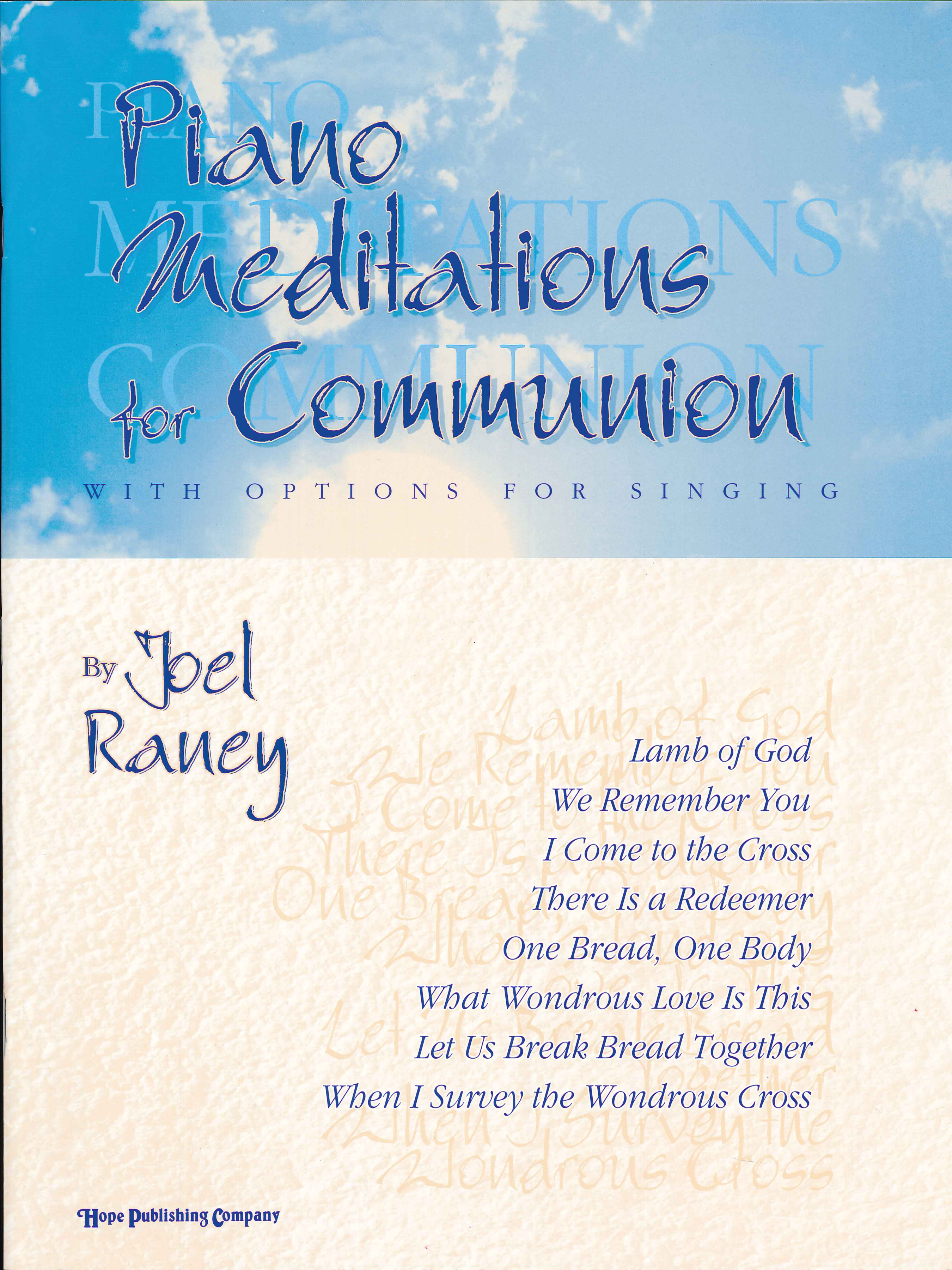 Piano Meditations for Communion Cover Image