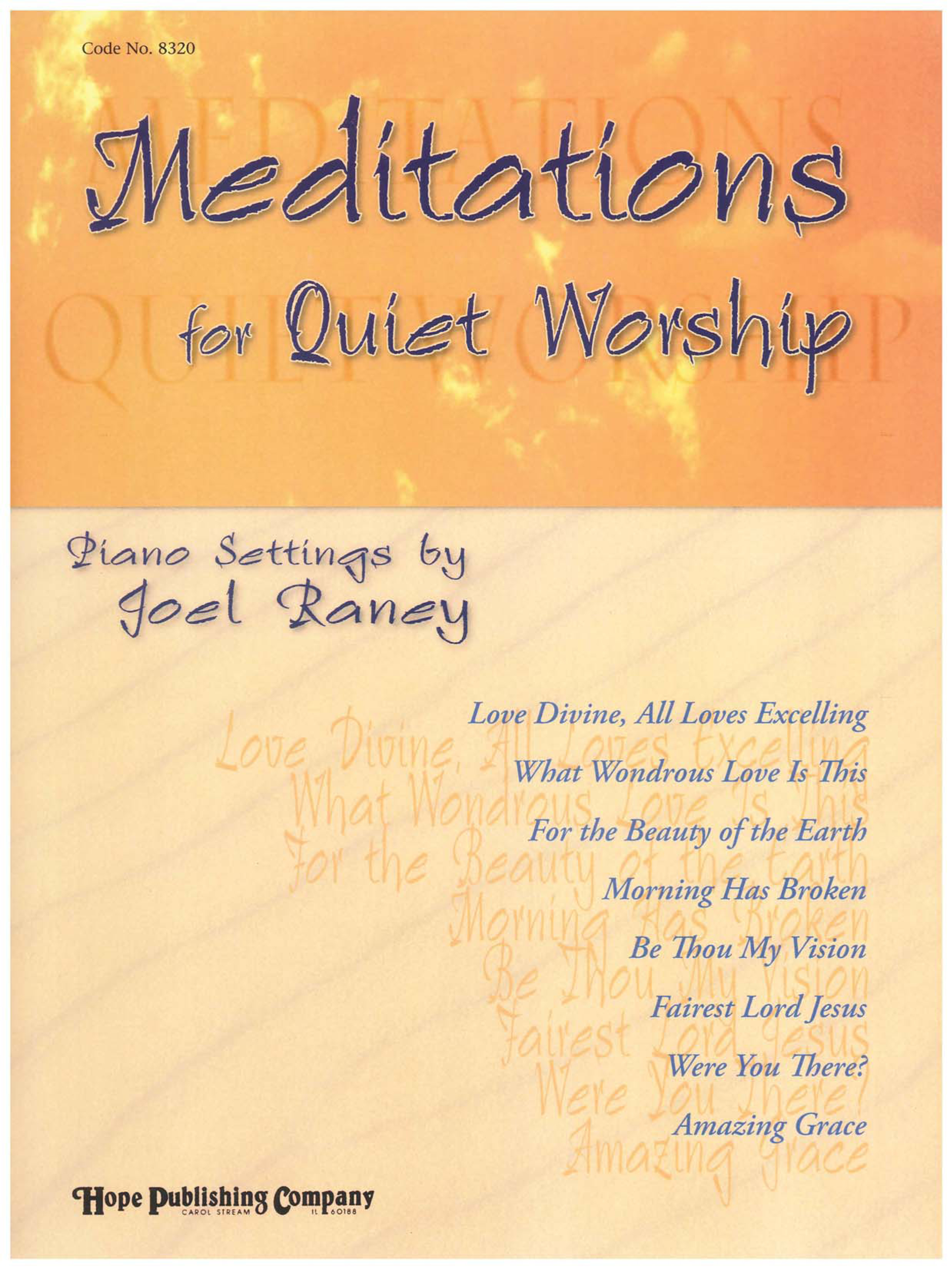 Meditations for Quiet Worship Cover Image