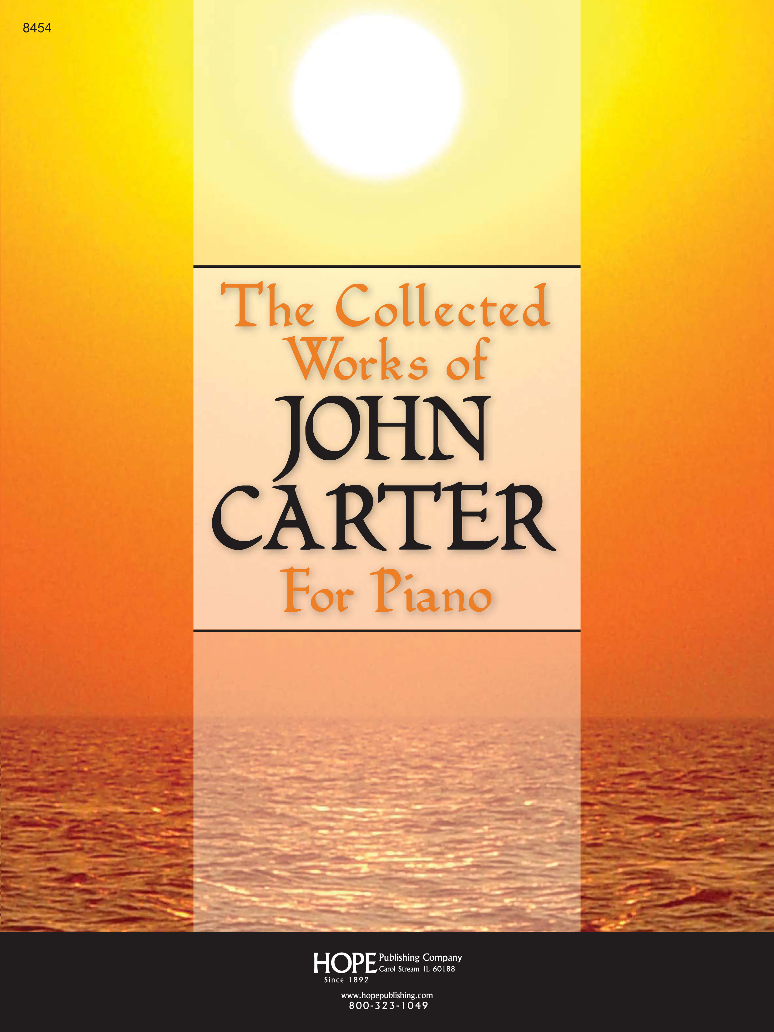 Collected Works of John Carter for Piano The Cover Image
