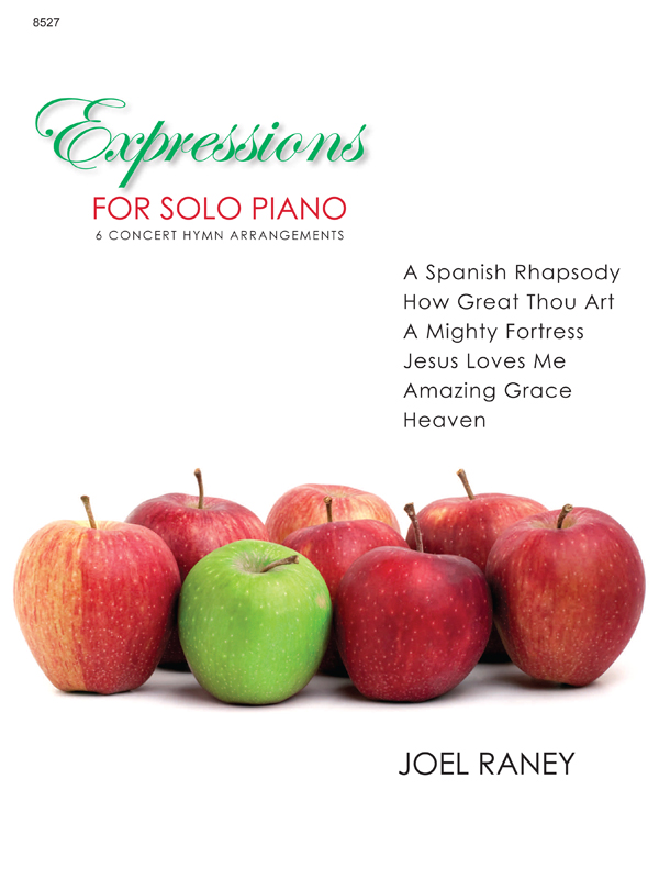 Expressions for Solo Piano Cover Image