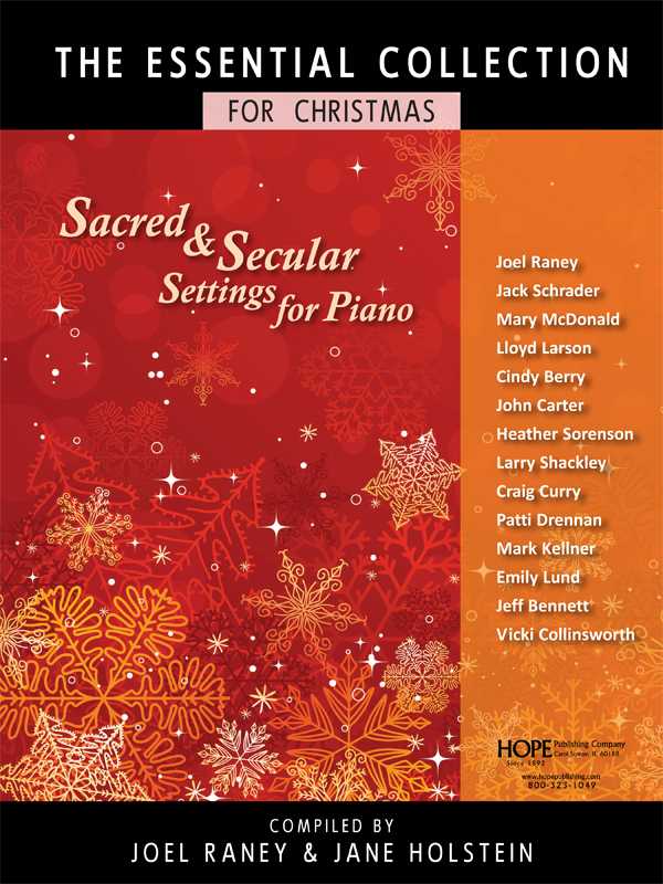 Essential Collection For Christmas, The (Sacred And Secular Settings For Piano)-Cover Image
