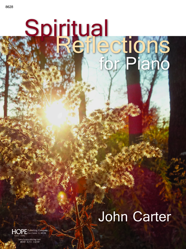 Spiritual Reflections for Piano Cover Image