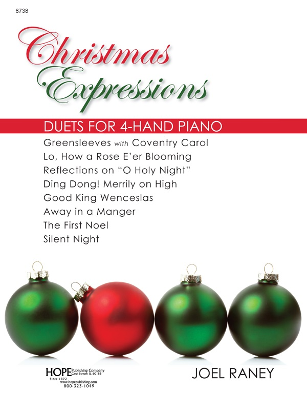 Christmas Expressions.Christmas Expressions Hope Publishing Company