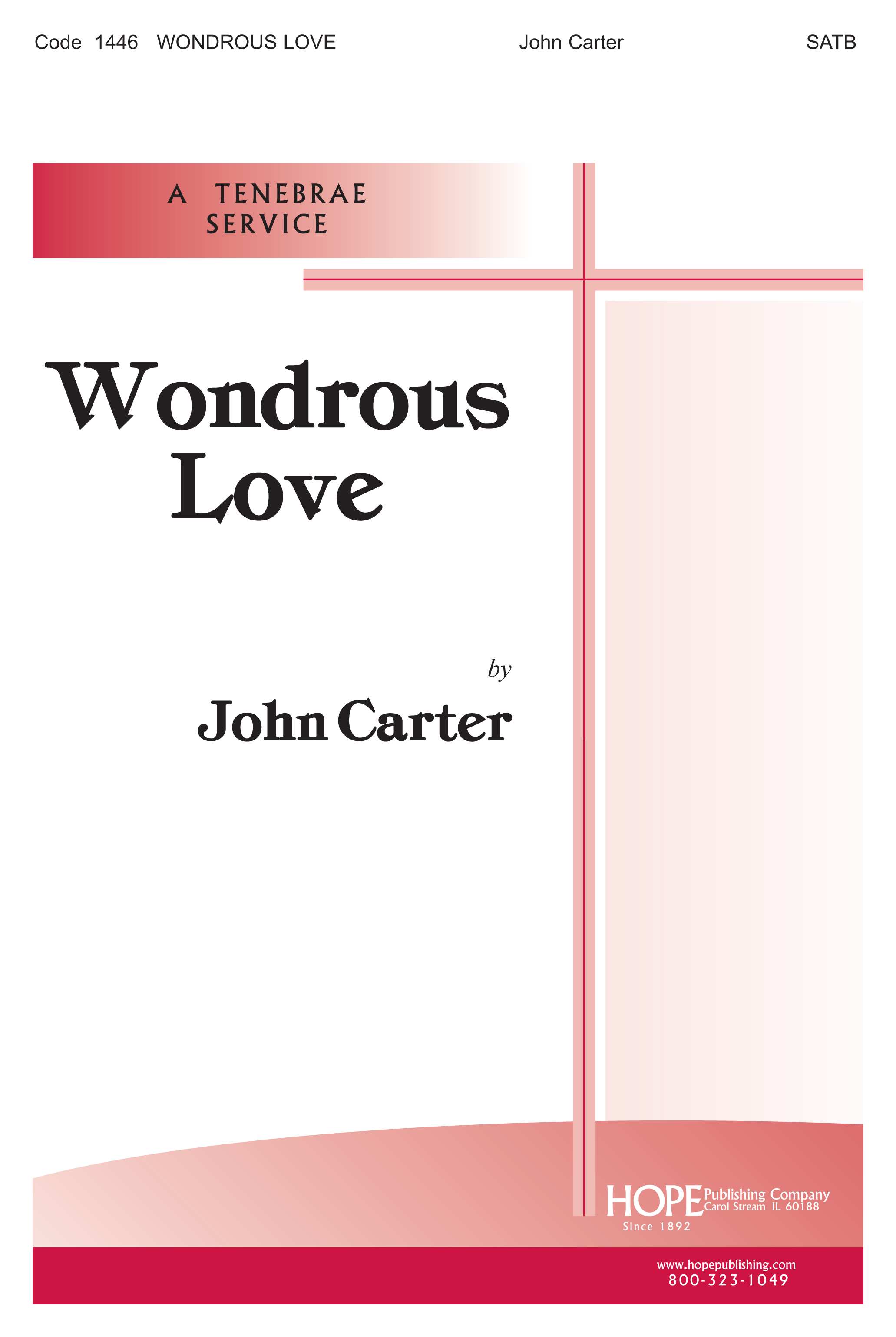 Wondrous Love - Musical Cover Image