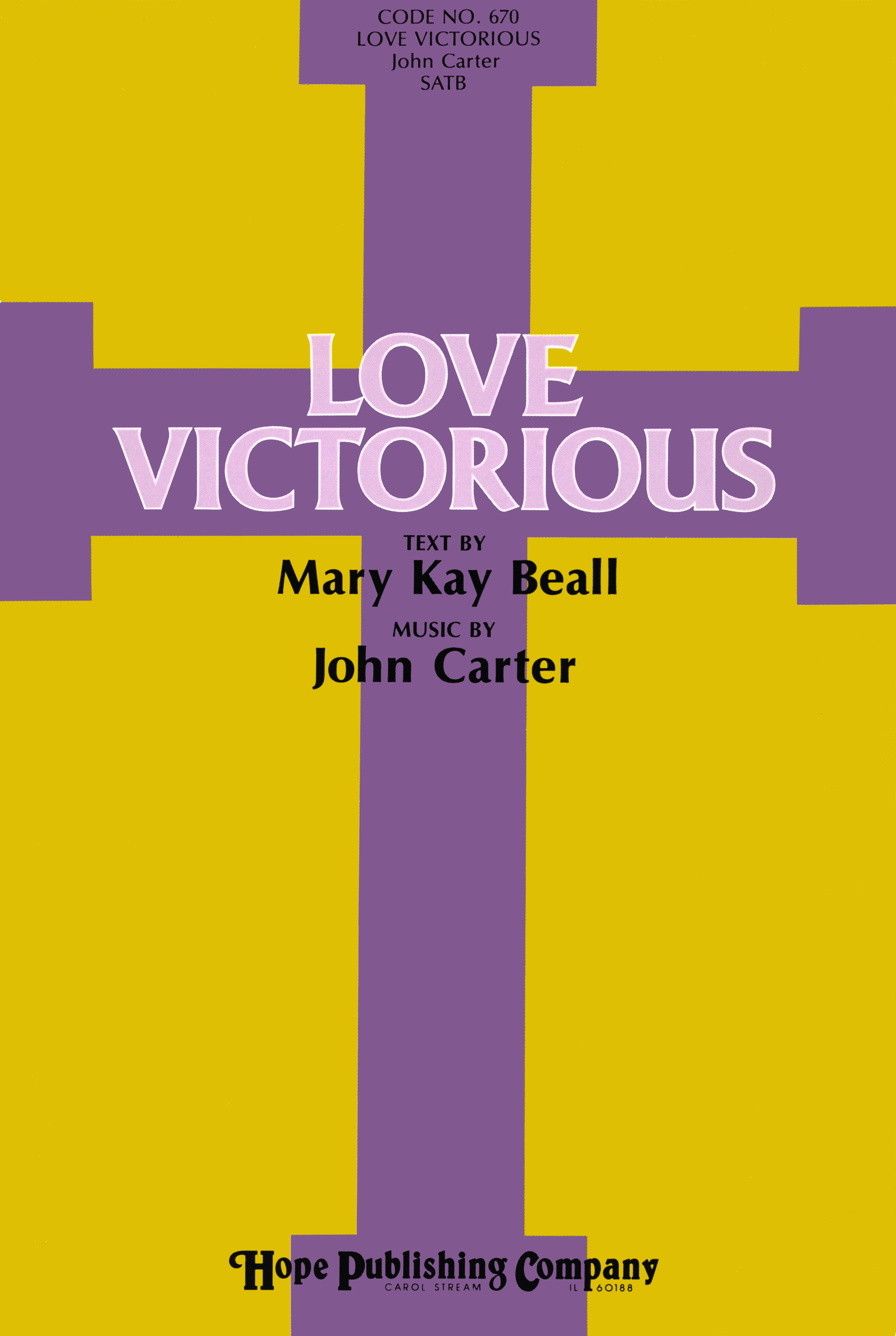 Love Victorious - Musical Cover Image