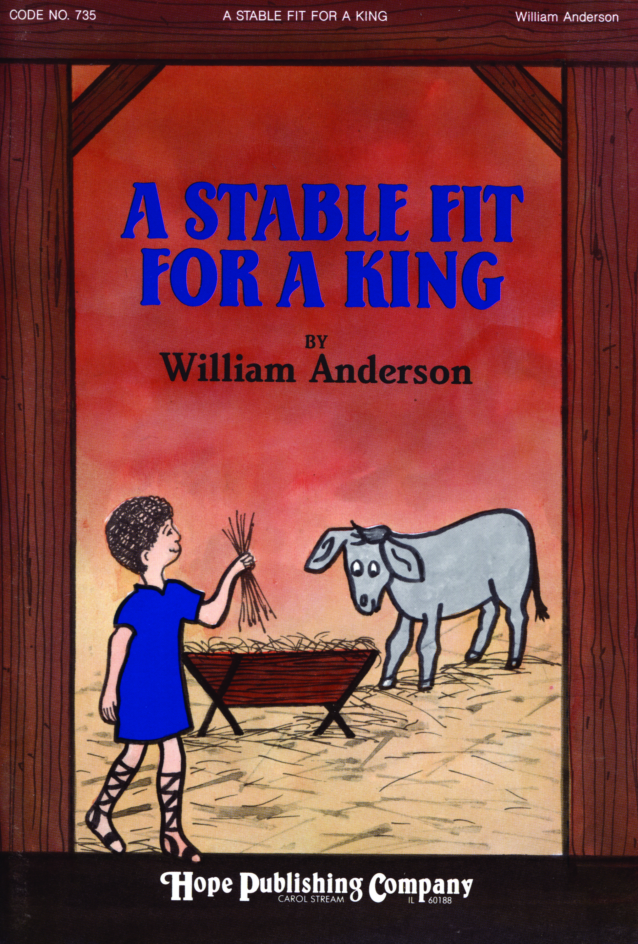 Stable Fit for a King A - Score Cover Image