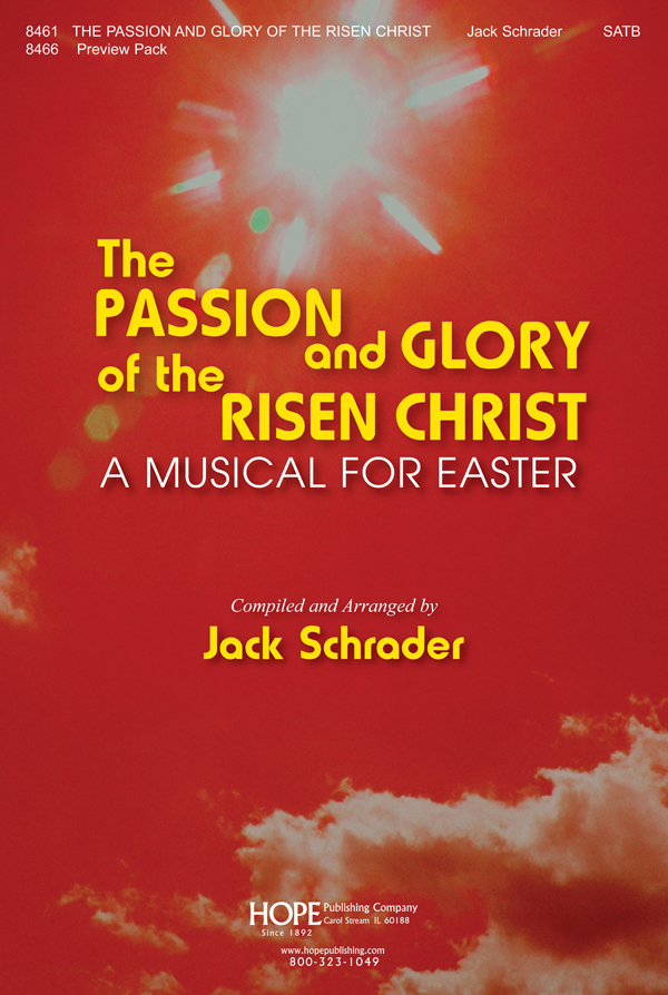 The Passion and Glory of the Risen Christ - Score Cover Image