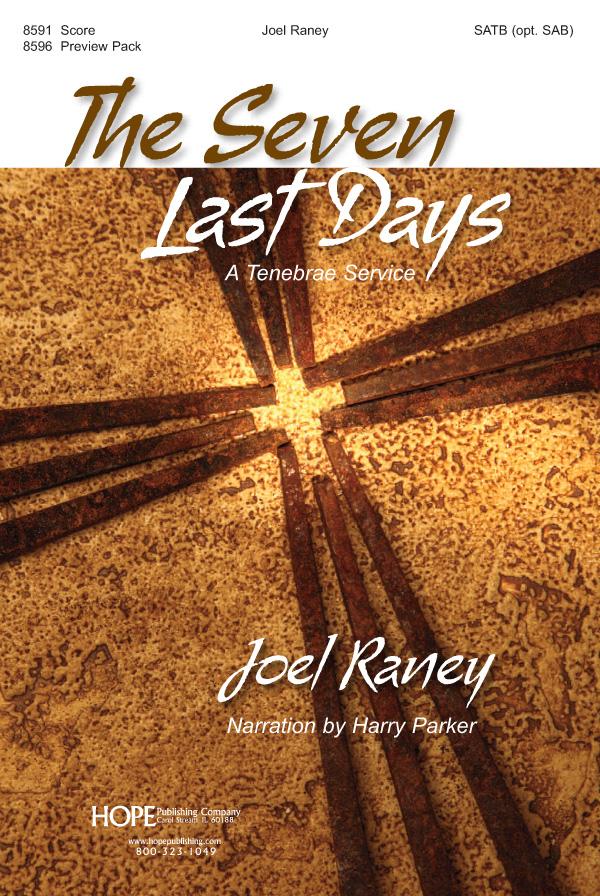 The Seven Last Days - Score Cover Image