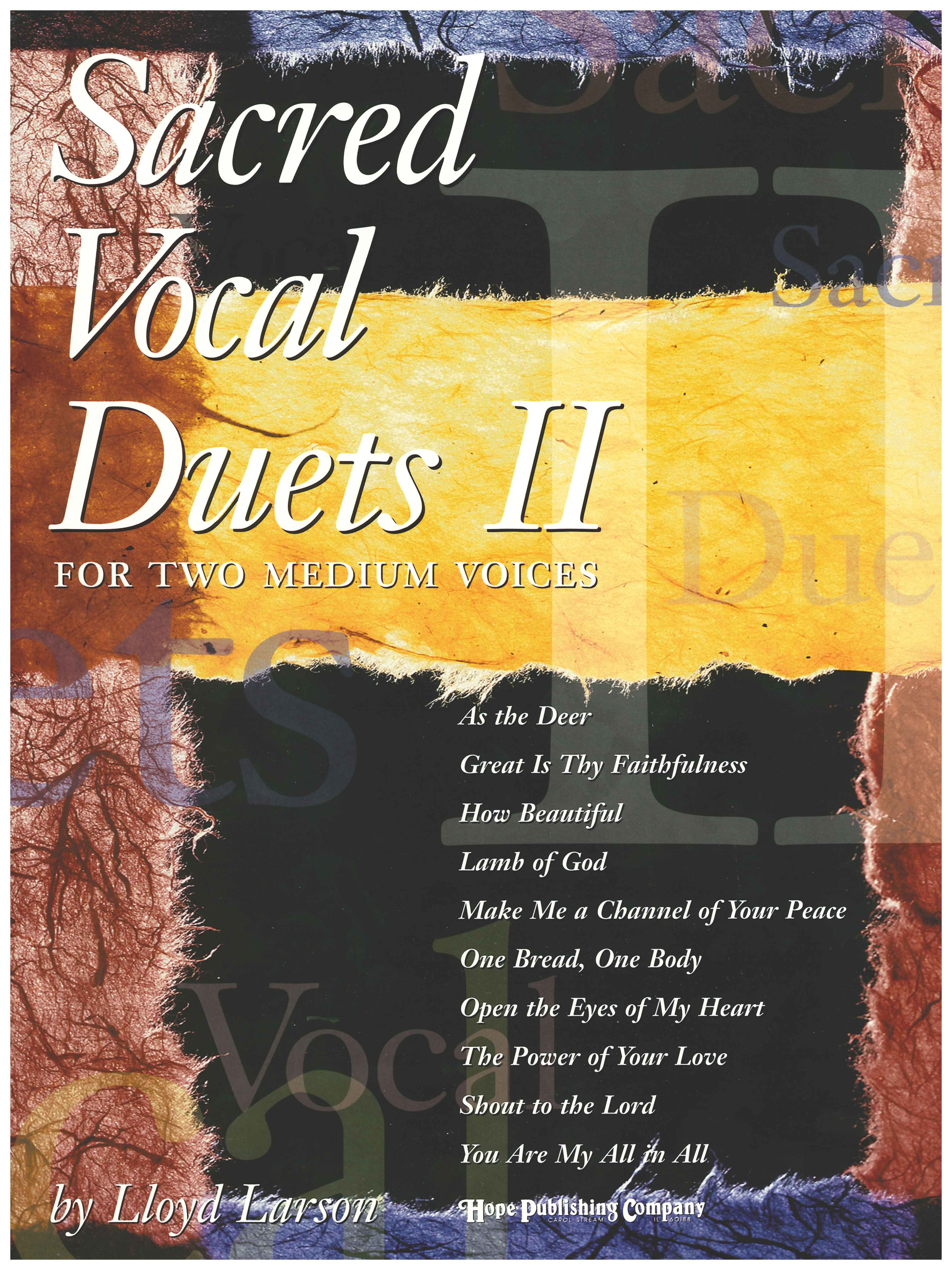 Sacred Vocal Duets II (2 Medium Voices) Cover Image