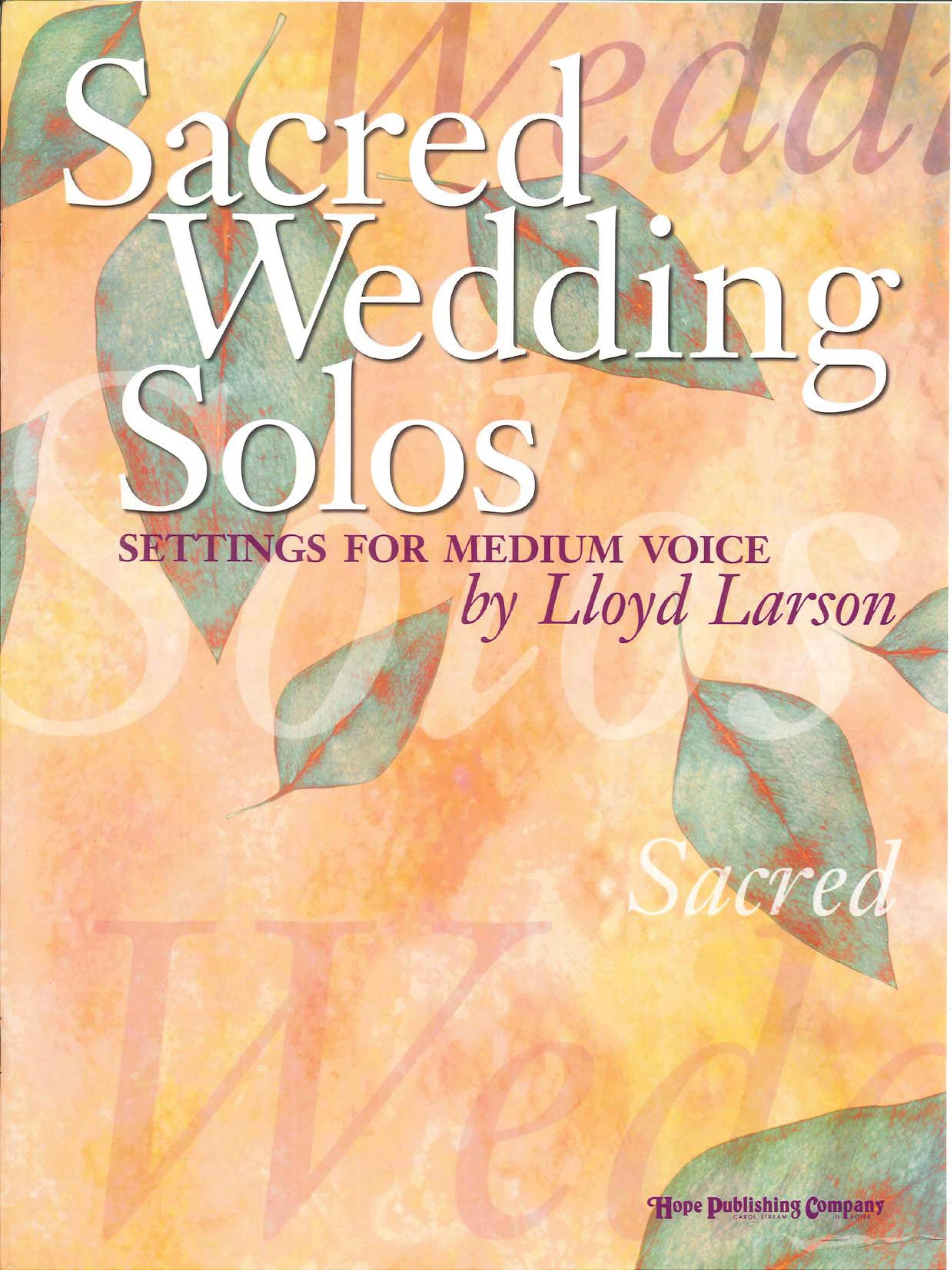 Sacred Wed Solos Med V Hope Publishing Company