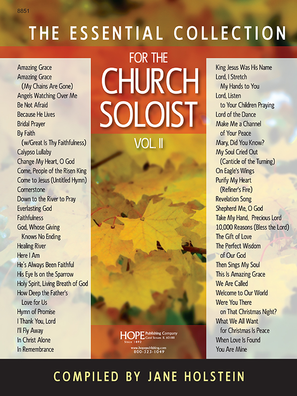 Essential Collection for the Church Soloist Vol. II Cover Image