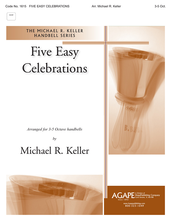 Five Easy Celebrations - 3-5 Octave Cover Image