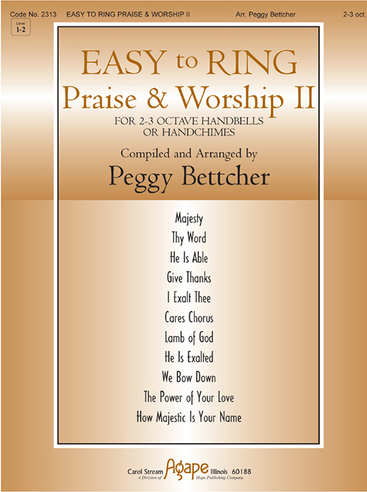 Easy to Ring Praise and Worship - 2-3 Oct. Vol. 2 Cover Image