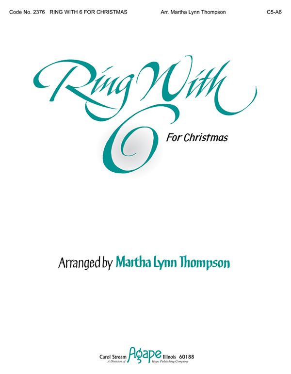 Ring with 6 for Christmas - 6 Ringers Vol. 1 (C5-A6) Cover Image