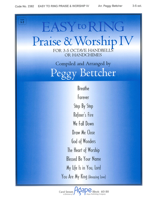Easy to Ring Praise and Worship - 3-5 Oct. Vol. 4 Cover Image