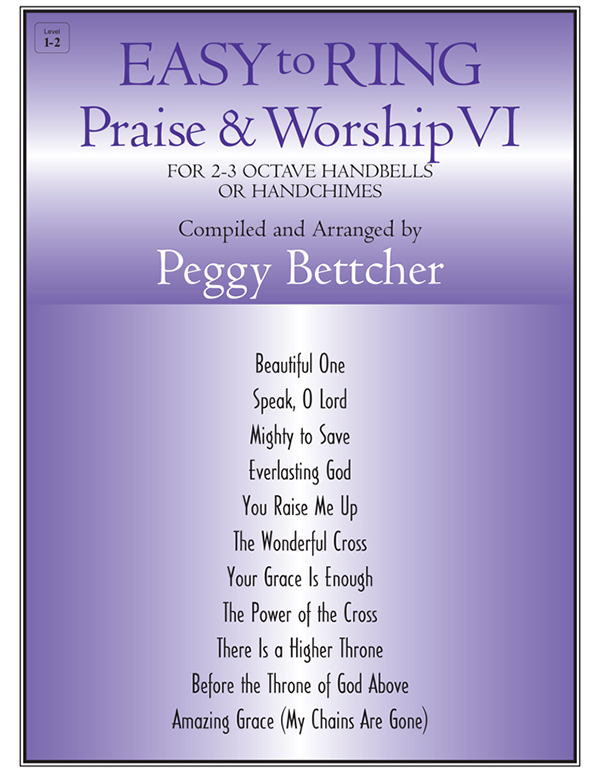 Easy to Ring Praise and Worship - 2-3 Oct. Vol. 6 Cover Image
