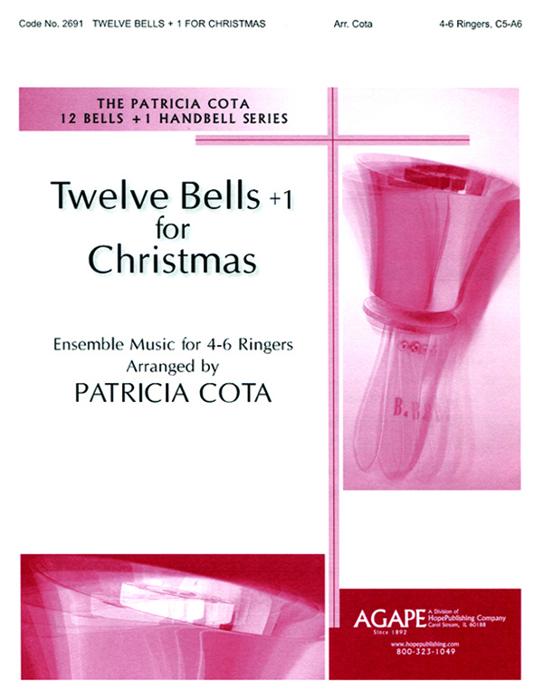 Twelve Bells +1 for Christmas (4-6 Ringers C5-A6) Cover Image