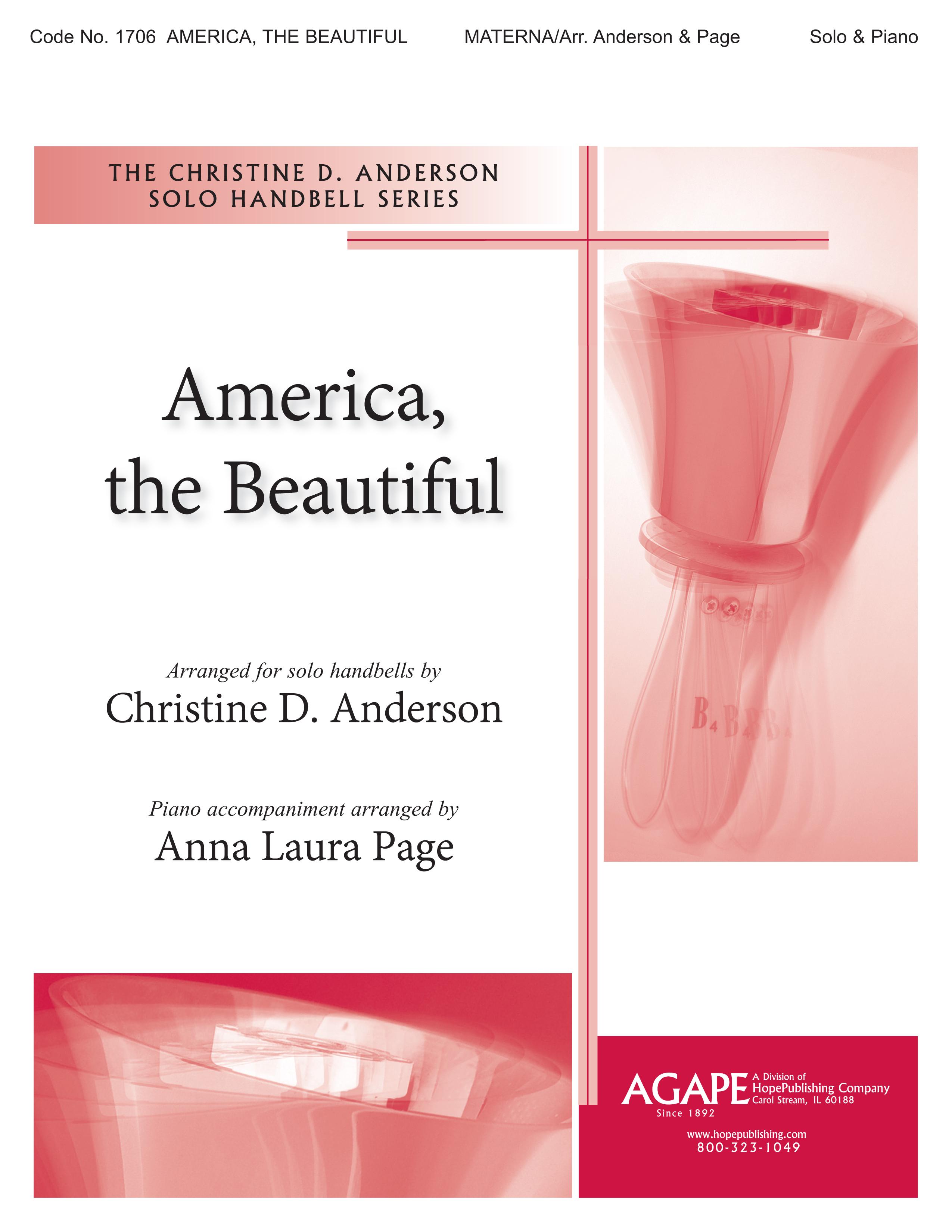 America the Beautiful - Solo Handbell Cover Image