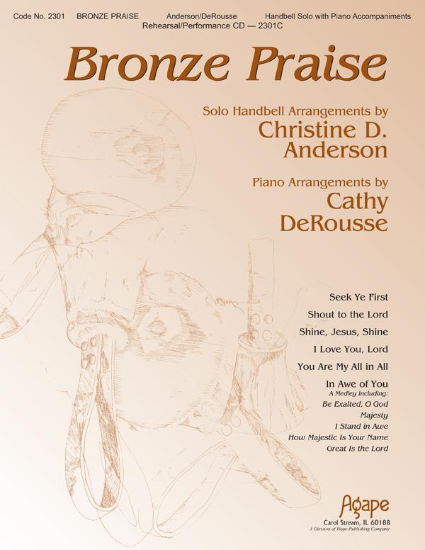Bronze Praise - Solo Handbell Collection Cover Image
