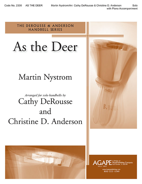 As the Deer - Handbell Solo Cover Image