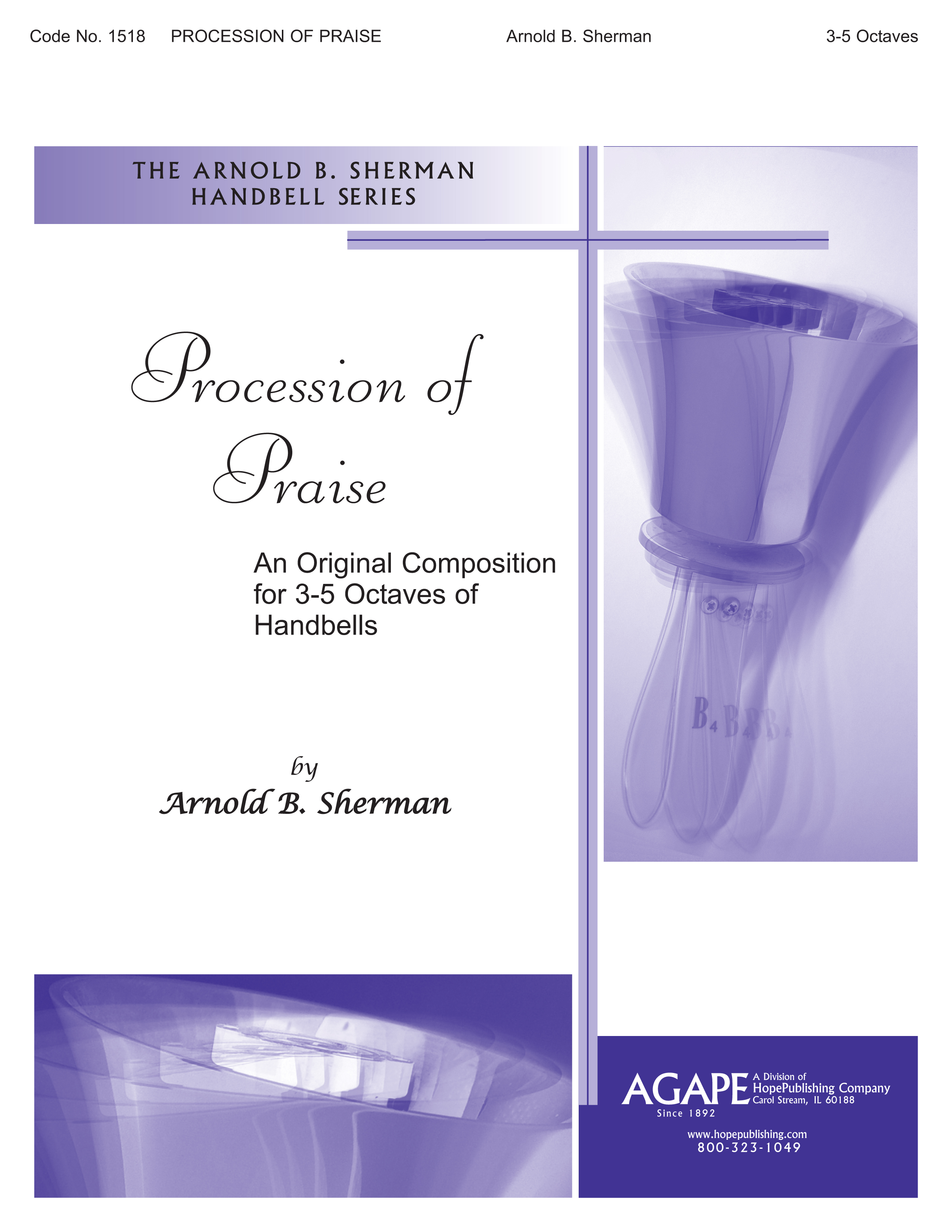 Procession of Praise - 3-5 Octave Cover Image