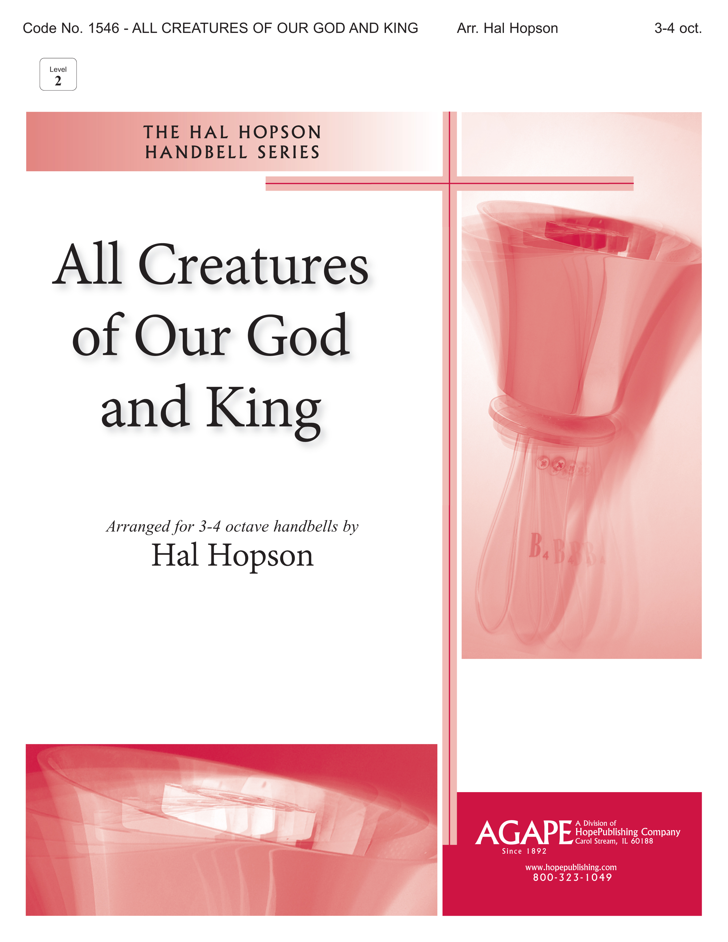 All Creatures of Our God and King - 3-4 Octave Cover Image