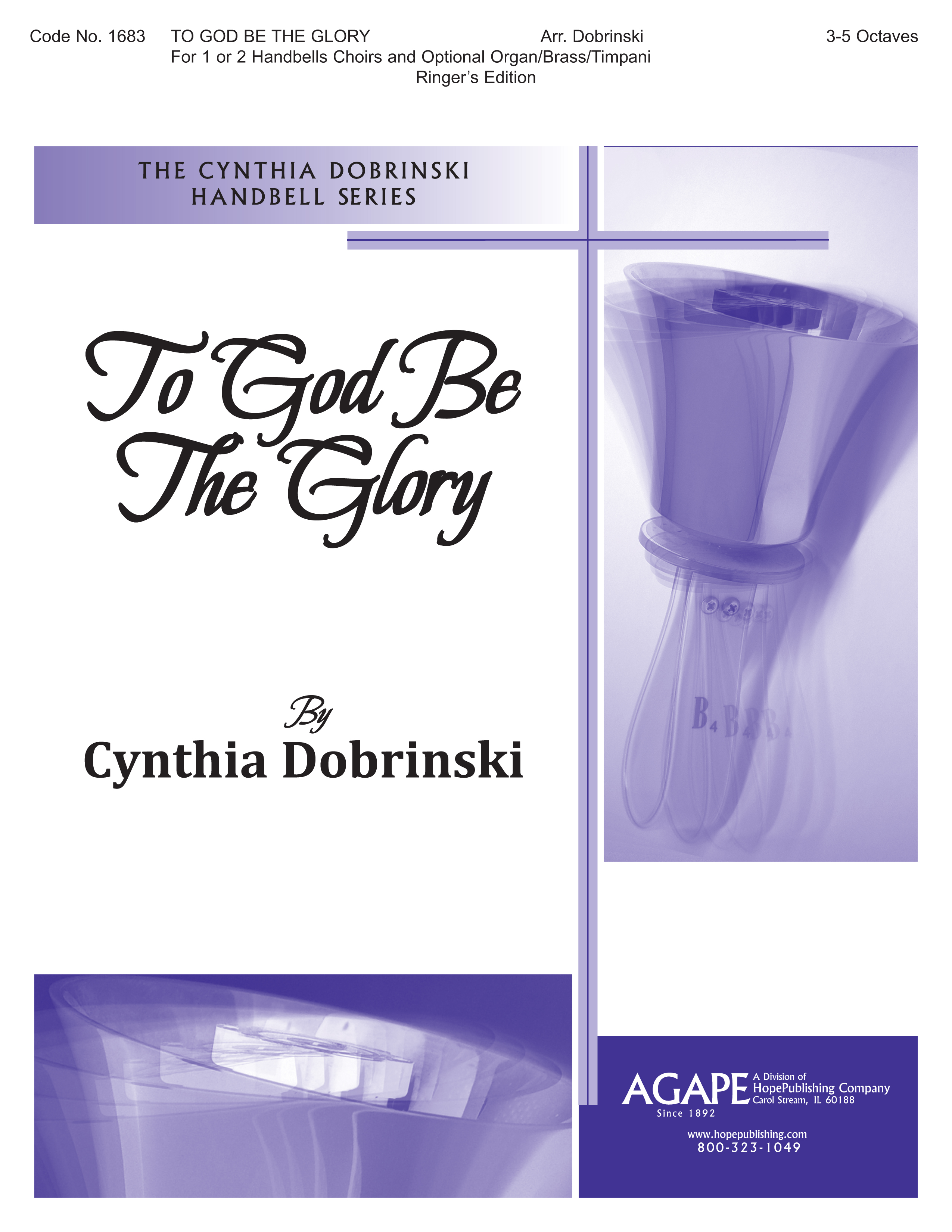 To God Be the Glory - Ringers Edition Cover Image