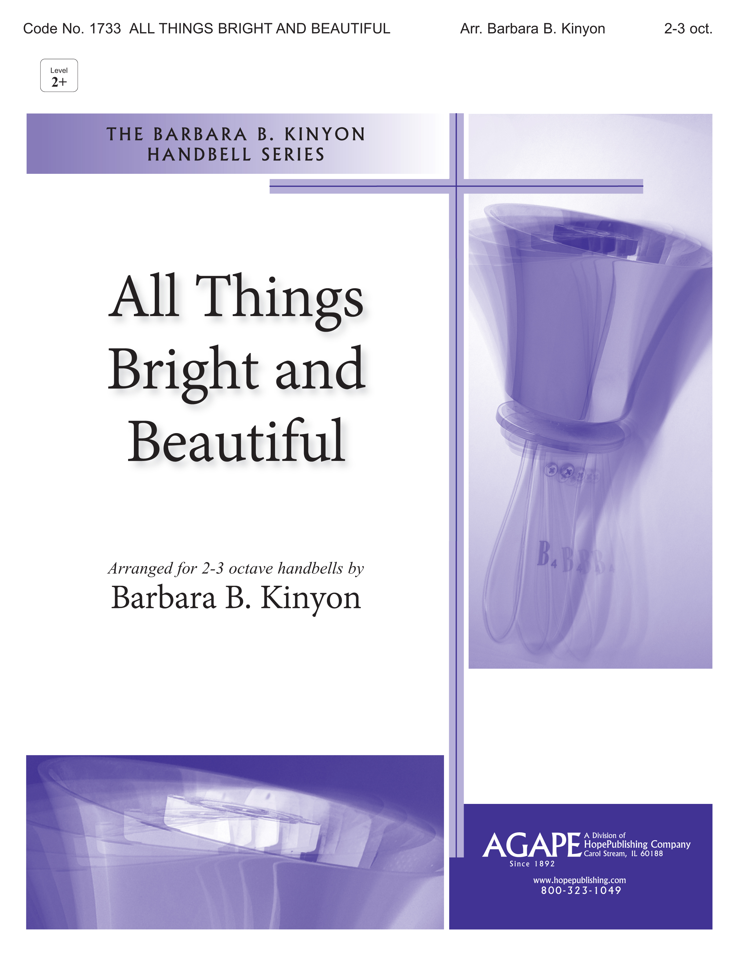 All Things Bright and Beautiful - 2-3 Octaves Cover Image