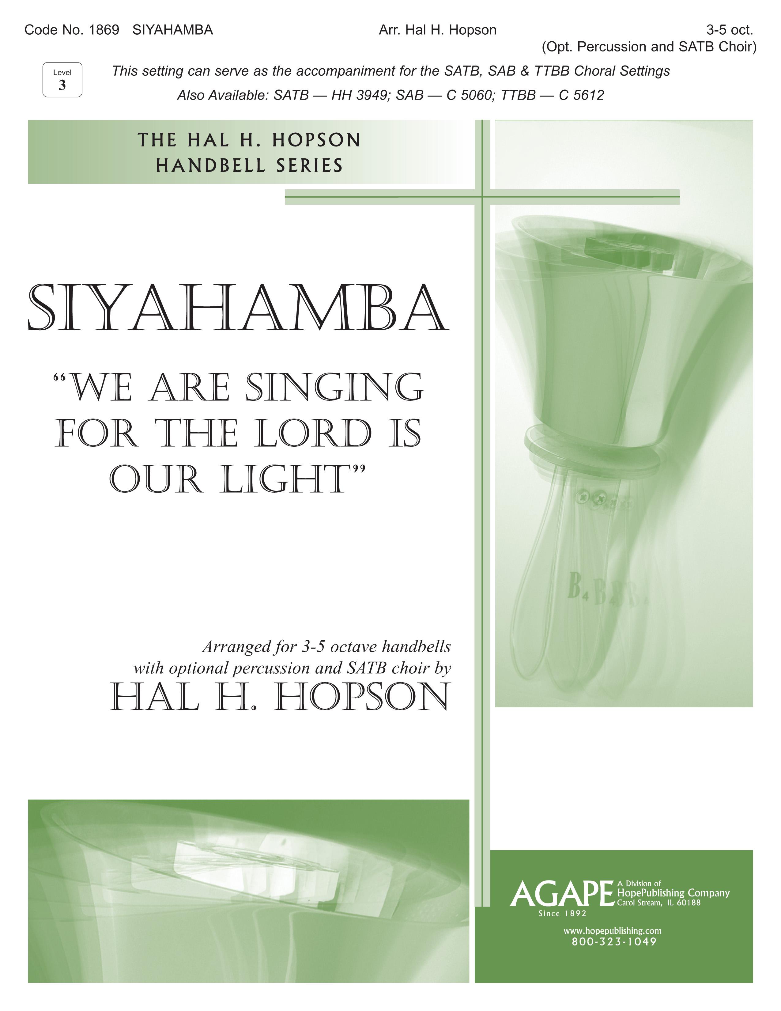 Siyahamba - 3-5 Octave Cover Image