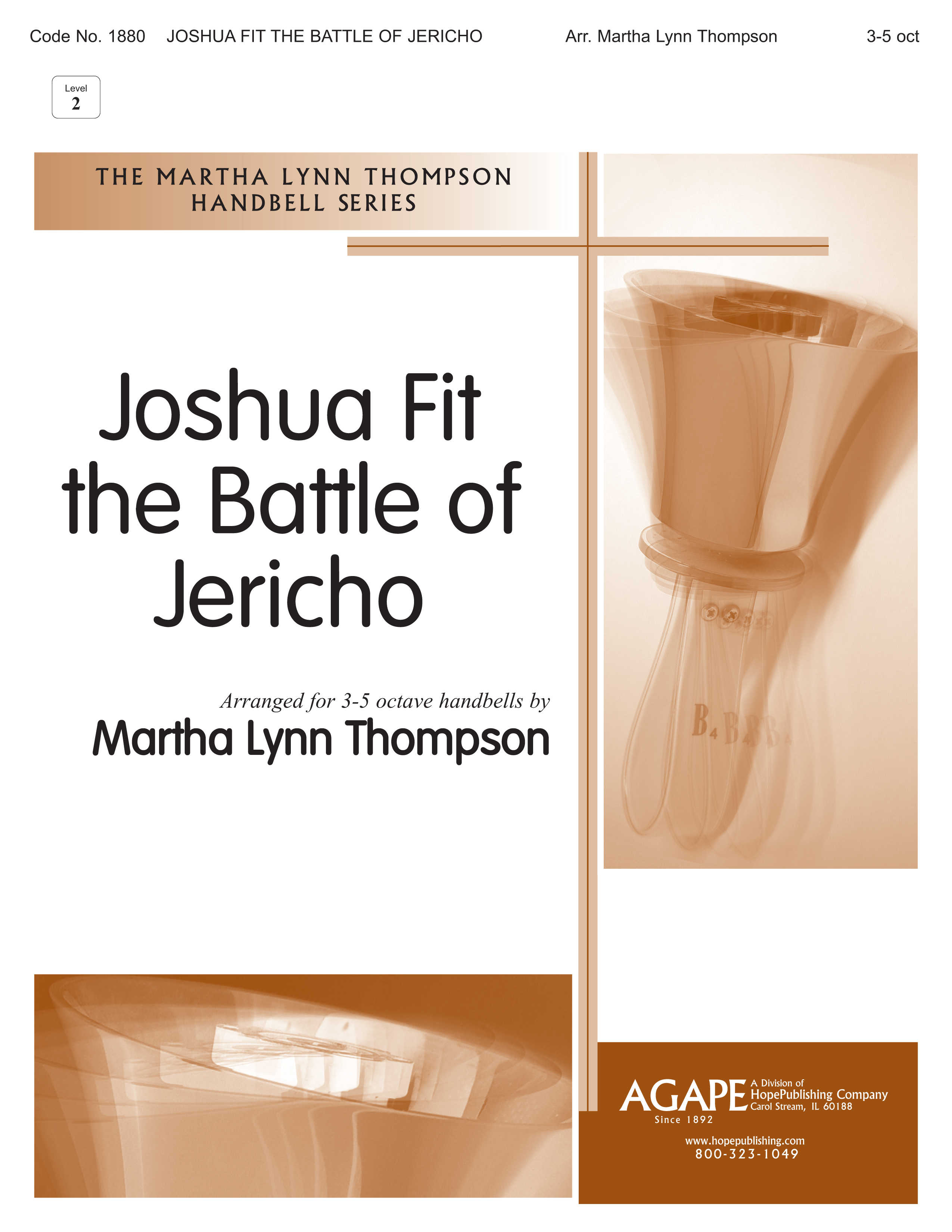 Joshua Fit the Battle of Jericho - 3-5 Octave Cover Image
