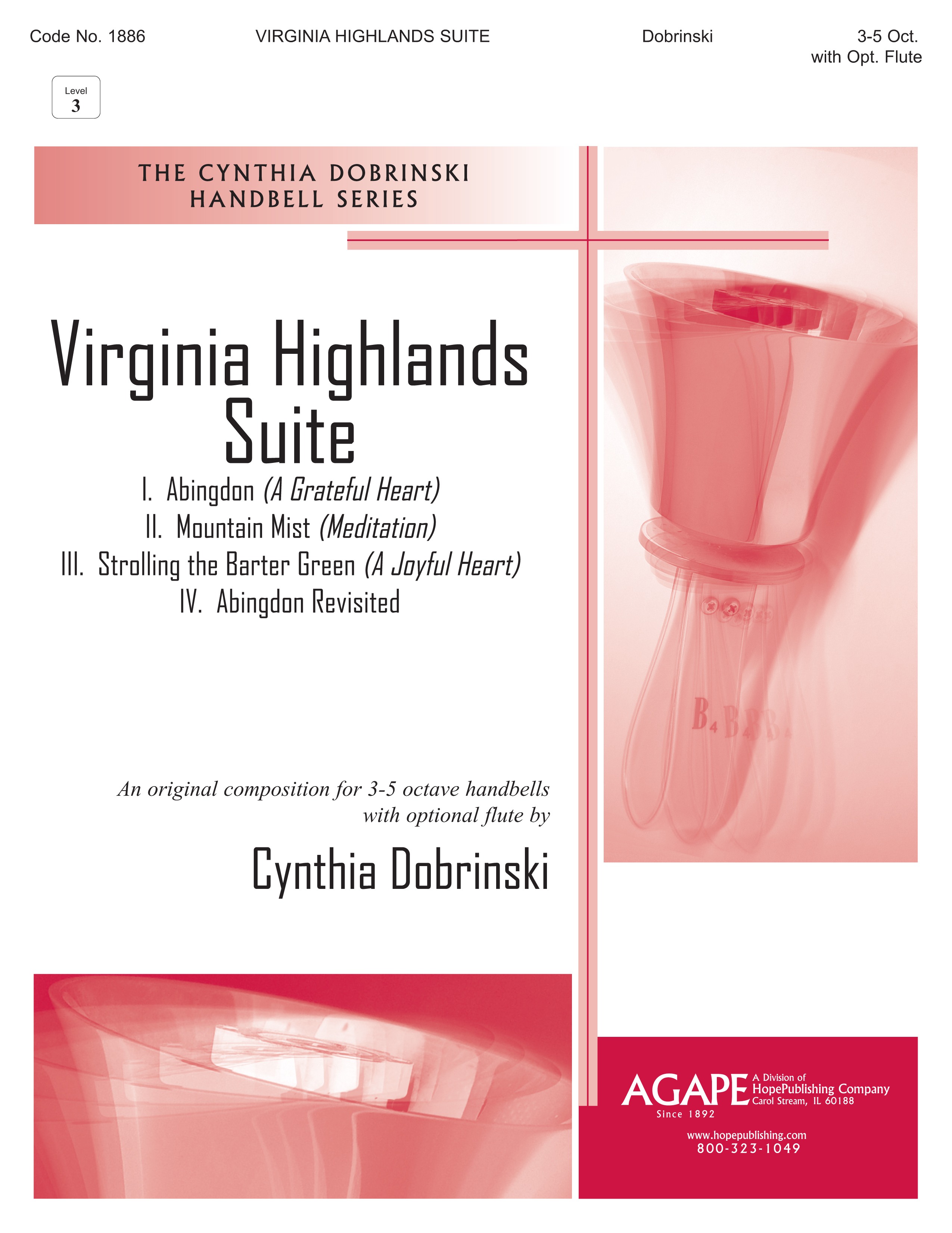 Virginia Highlands Suite - 3-5 Octave Cover Image