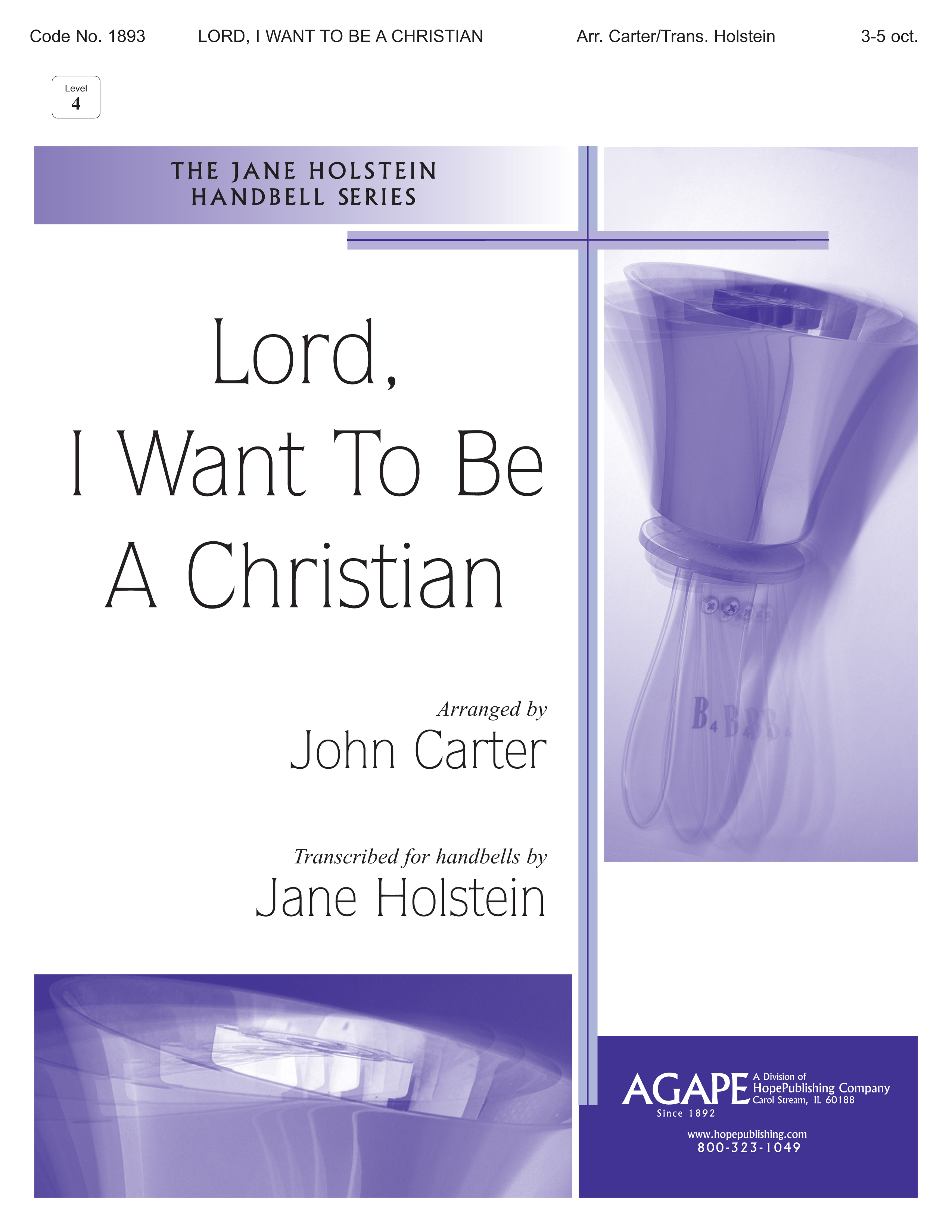 Lord I Want to Be a Christian Cover Image