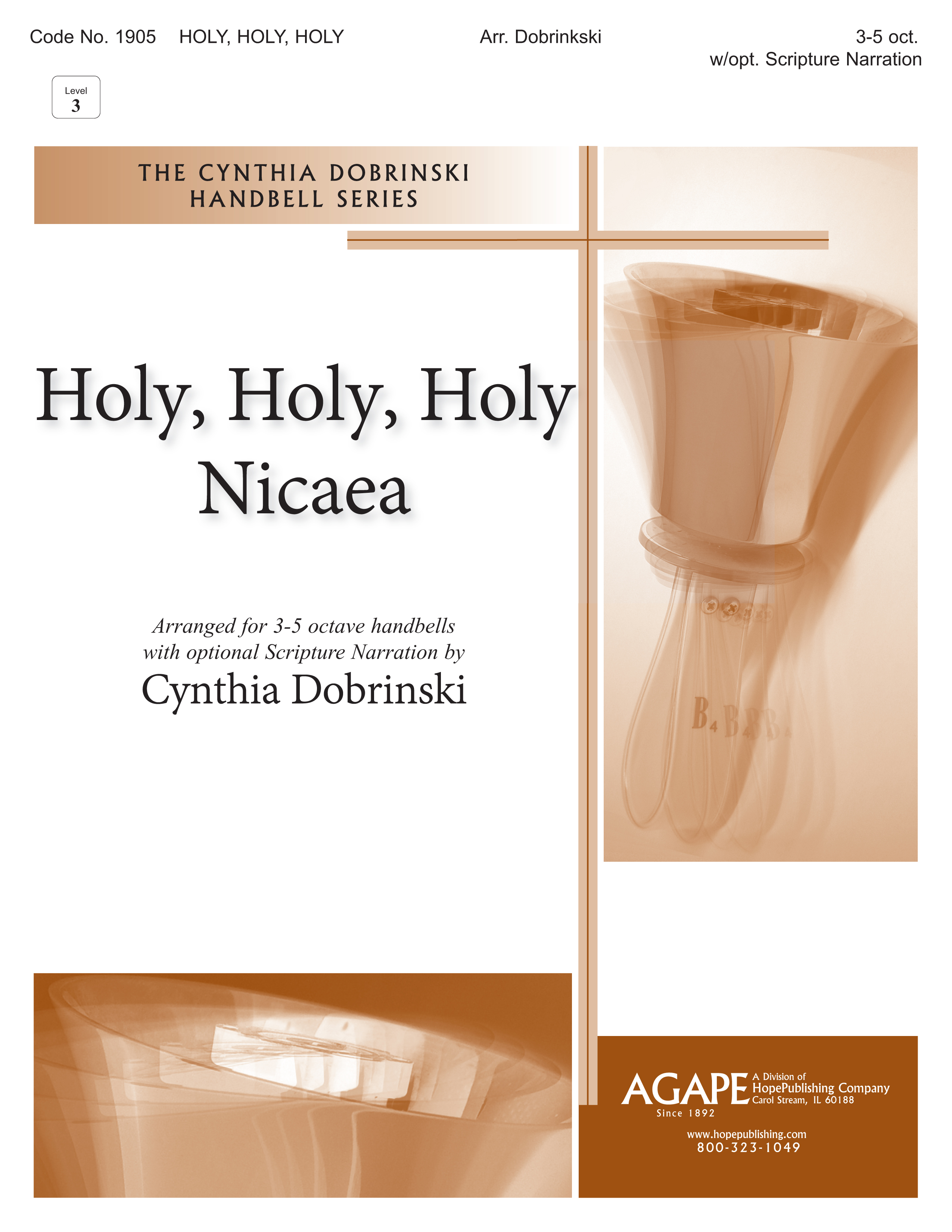 Holy Holy Holy - 3-5 Octave w-opt. Narration Cover Image