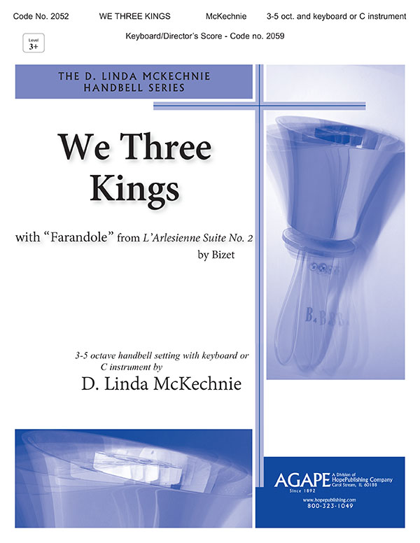 We Three Kings - 3-5 Octave and Keyboard C Instr. or Orch. Cover Image