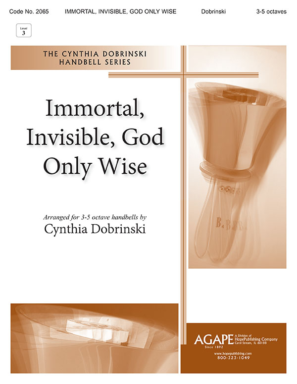 Immortal Invisible God Only Wise - 3-5 Octave Cover Image