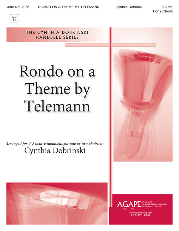 Rondo on a Theme by Telemann - 3-5 Octave Cover Image