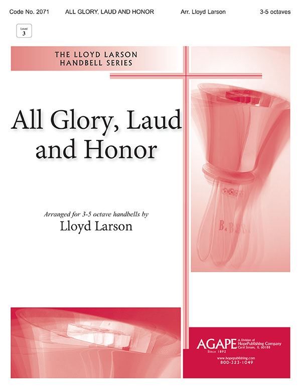 All Glory Laud and Honor - 3-5 Octave Cover Image