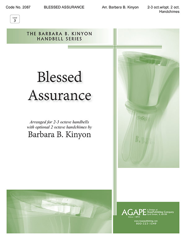 Blessed Assurance - 2-3 Octave Cover Image