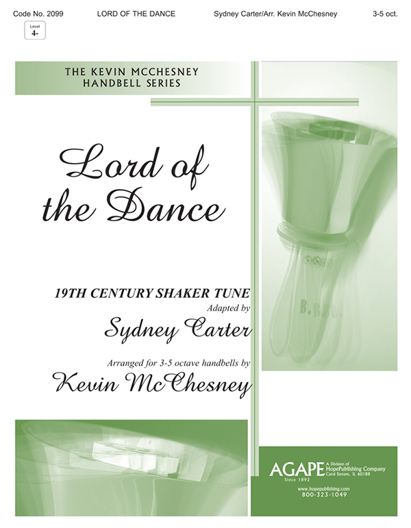 Lord of the Dance - 3-5 Octave Cover Image