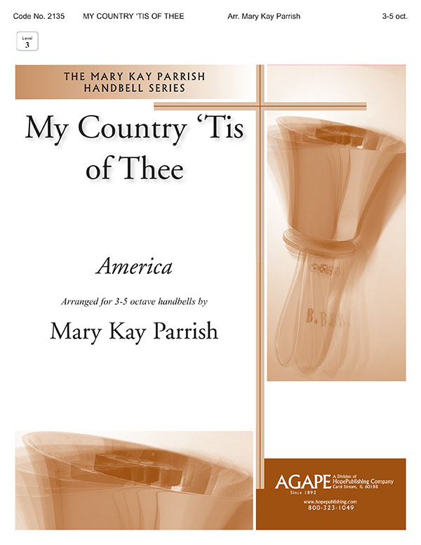 My Country 'Tis of Thee - 3-5 Octave Cover Image