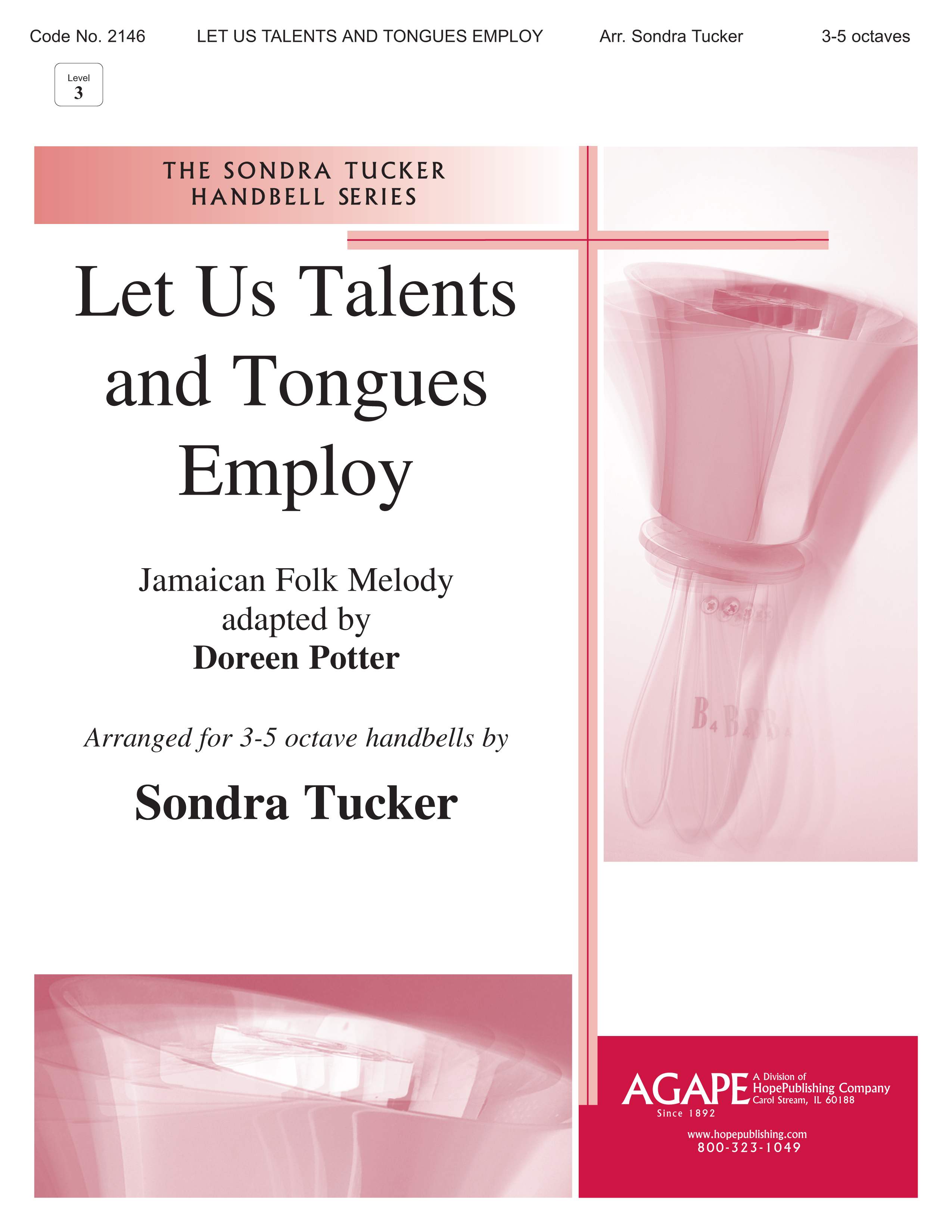 Let Us Talents and Tongues Employ - 3-5 Octave Cover Image