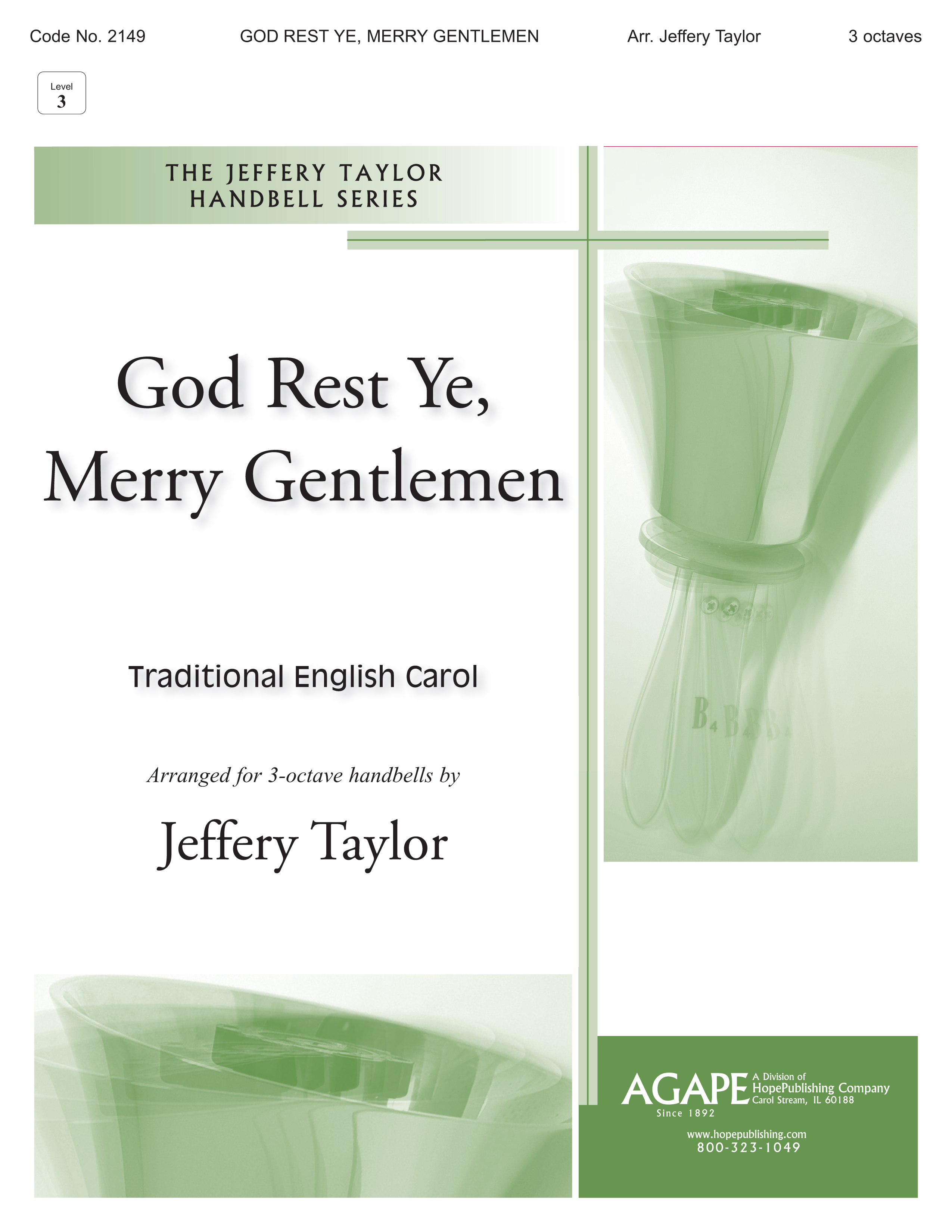 God Rest Ye Merry Gentlemen - 3 Octave Cover Image
