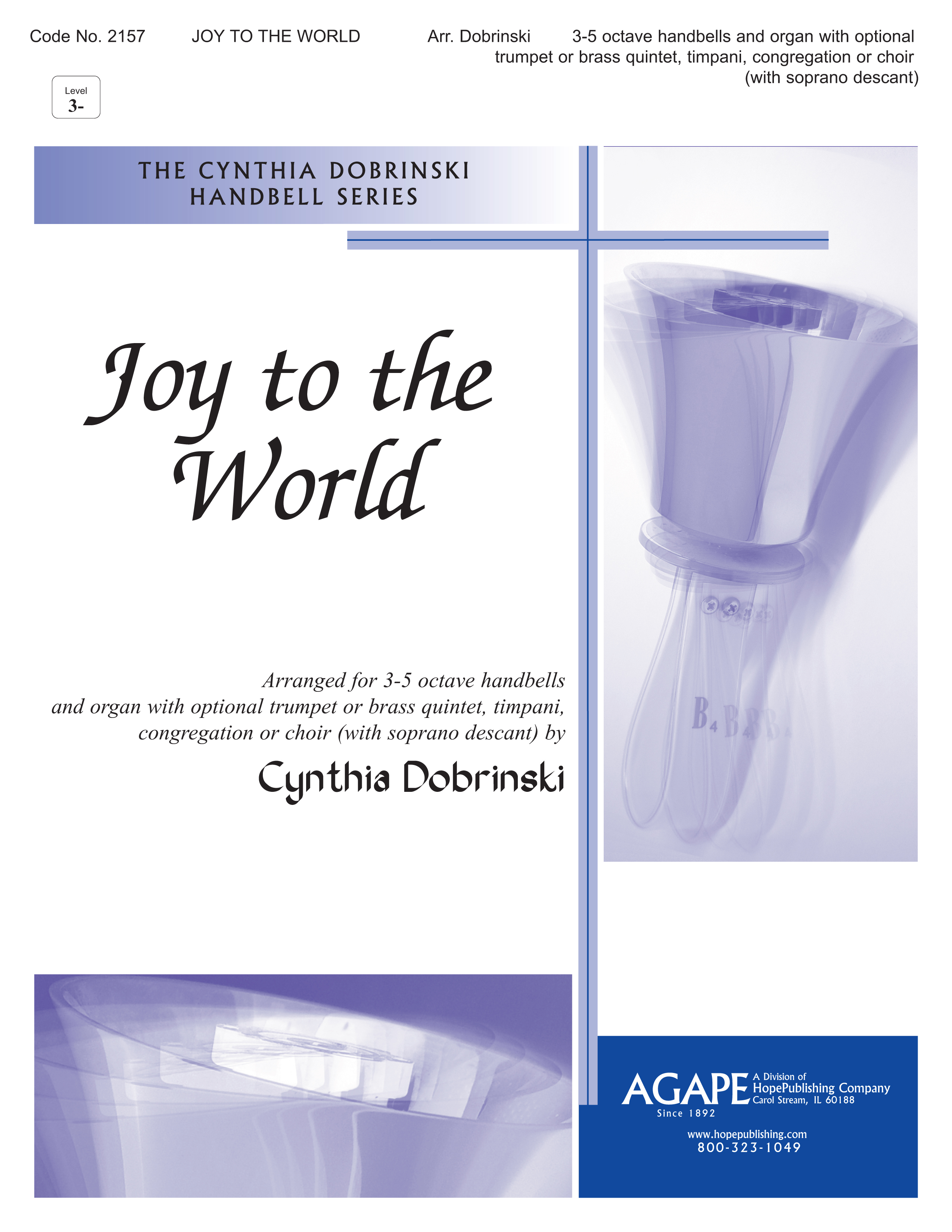 Joy to the World - 3-5 Octave Cover Image