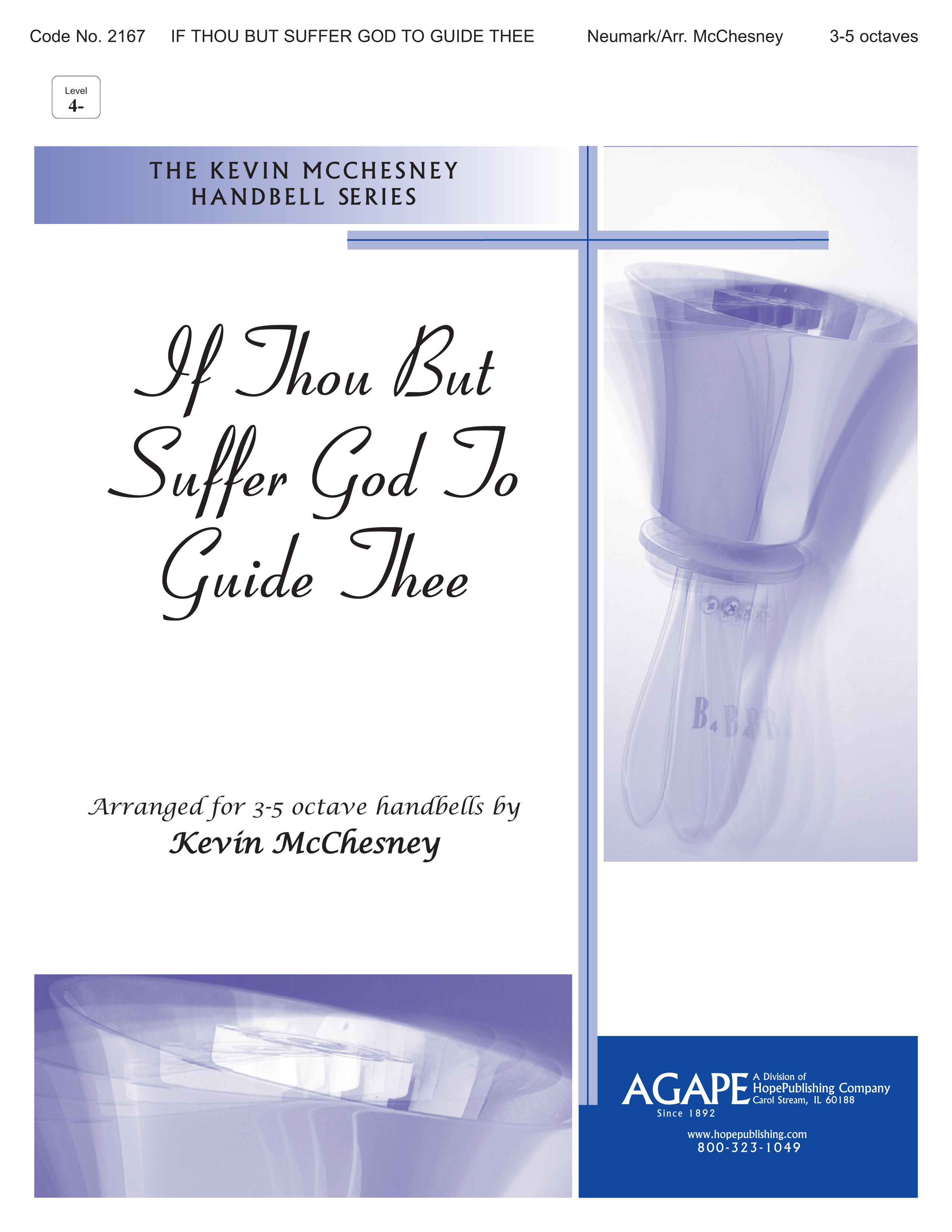 If Thou but Suffer God to Guide Thee - 3-5 Octave Cover Image