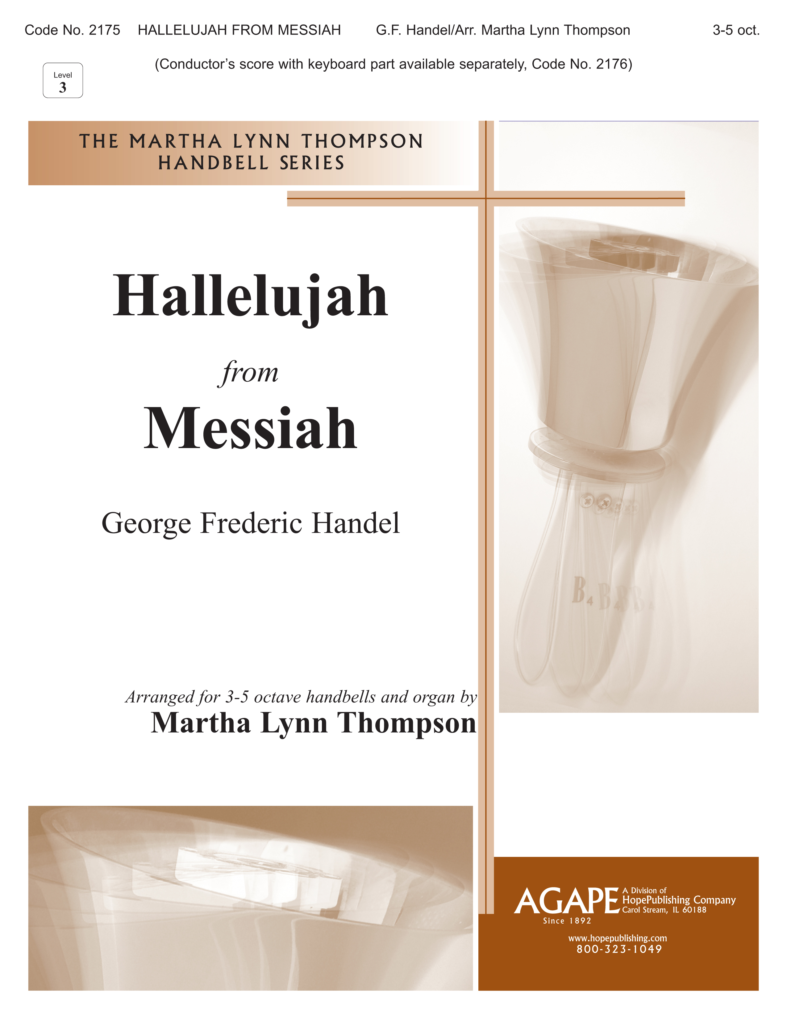 """Hallelujah from """"Messiah"""" - 3-5 Octave Cover Image"""