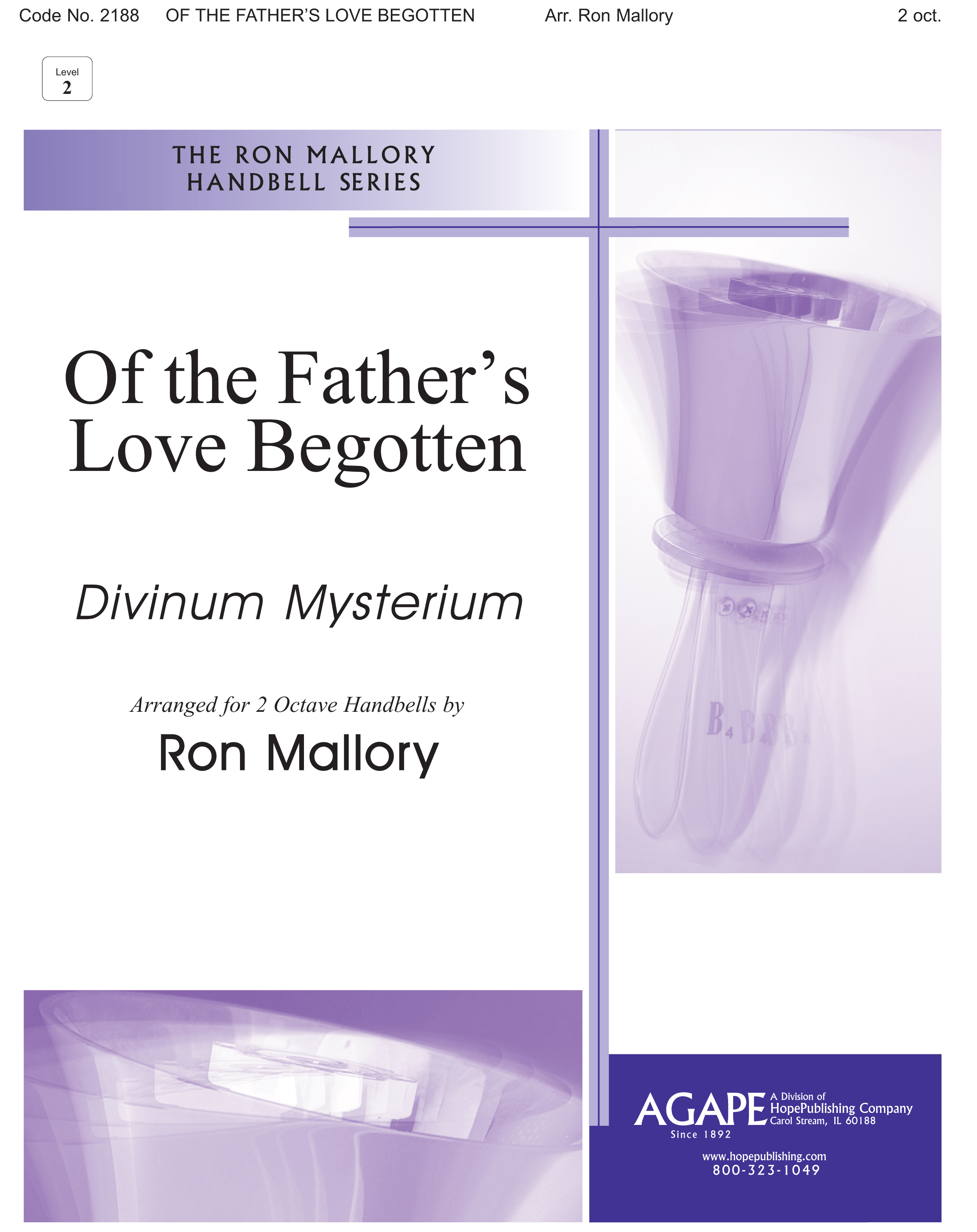 Of the Father's Love Begotten - 2 Octave Cover Image